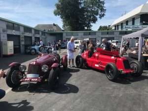 Paddock der Vintage Sports Car Trophy